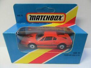 Matchbox Superfast MB70 Ferrari 308GTB - Mint/Boxed