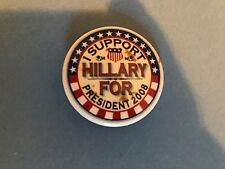 Vintage Pinback Pin Button Hillary For President 2008