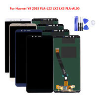 For Huawei Y9 2018 Display LCD Screen 3D Touch Digitizer Assembly Replacement