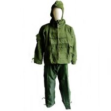 NEW SEALED BRITISH ARMY CBRN SUIT NBC PROTECTIVE SMOCK & TROUSERS GREEN