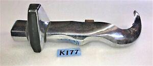 USED OEM 70 - 74 MIDGET / SPRITE RIGHT REAR BUMPER W/ BRACKETS & TAG LIGHT  K177