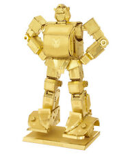Fascinations Metal Earth Transformers Bumblebee Gold Golden Version 3D Model Kit