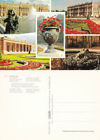1980's MULTI VIEWS OF THE CHATEAU DE VERSAILLES FRANCE UNUSED COLOUR POSTCARD