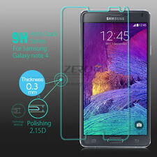 Tempered Glass Premium Screen Guard for Samsung Galaxy Note 4 Scratch Protector