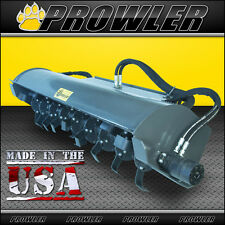 72 Inch High Flow Etreme Duty Skid Steer Loader Rotary Tiller - 20 to 40 GPM