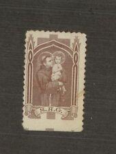 Saint Anthonys Guild S.A.G. Label Religion Child Bottom edge  Mint E104