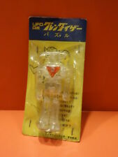 ALL ORIGINAL GRANDIZER ROBOT CLEAR PLASTIC PUZZLE MINT + CARD GOLDORAK 1976