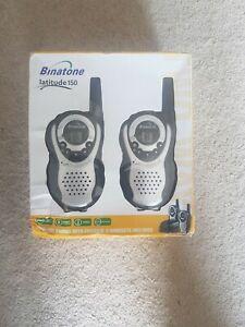 Binatone Latitude 150 Twin (8 Channels) Two Way Radio 3.1miles/5km range