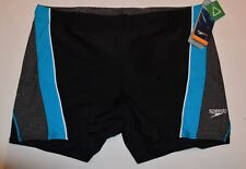 Mens Swimwear Speedo Fit Ignite Splice Colorblock Trunks Navy