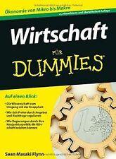 Wirtschaft für Dummies (Fur Dummies) von Flynn, Sea...   Buch   Zustand sehr gut