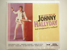 Johnny Hallyday double cd digipack The Very Best Of