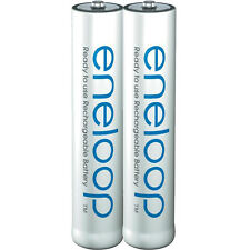 PANASONIC Eneloop Rechargeable Ni-Mh Batteries AAA 800mAh 5-Year 2100 Times  2pc