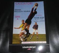 La Raccolta Completa Degli Album Panini 1962 1963 Gazzetta Dello Sport Figurine