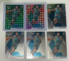 19-20 Mosaic Basketball Rookie Cody Martin Lot of 6 (Green,Pink Camo,Base)