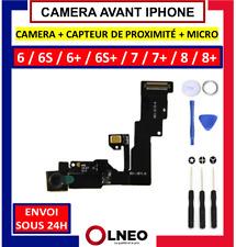 CAMERA AVANT +MICRO+ CAPTEUR PROXIMITE FACETIME IPHONE 6 6P 6S 6SP 7 7P 8 8 PLUS
