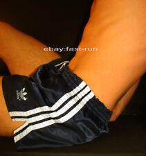 ADIDAS M d6 SPRINTER Shorts West Germany Pantaloni sportivi lucentezza lucentezza Nylon Pantaloni Shorts