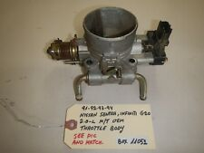 **91-92-93-94 NISSAN SENTRA / INFINITI G20 2.0-L M/T THROTTLE BODY (BOX-11052)**