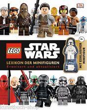 Fachbuch LEGO® Star Wars™ Lexikon der Minifiguren, neue Auflage, mit Minifigur