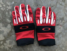NEW Men's Sz XL Oakley Gloves - red / black / white