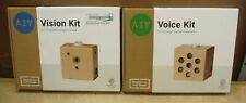 LOT of 2 Google AIY Raspberry Pi Zero Kits• Vision & Voice Pi Incl. in Each *209