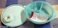 Tupperware- Crystal Wave Divided dish with Cold Portion-New-Micro Wave