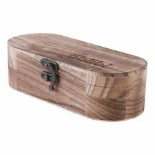 Natural Wood Handmade Sunglasses Box Case Hard Protective Glasses Vintage Retro