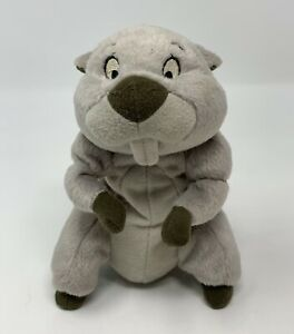 "Mattel Disney Winnie The Pooh Gopher Bean Bag Plush Stuffed Animal Arcotoys 7"""