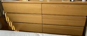 Ikea Malm Chest Of 6 Drawers