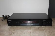 SONY ST-SE370 FM AM Tuner Radio 30 perset Quartz Lock Digital Synthesizer workin