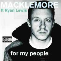 RYAN MACKLEMORE & LEWIS - FOR MY PEOPLE  CD NEU