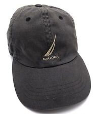 NAUTICA gray / black adjustable cap / hat - 100% cotton
