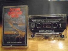 RARE OOP Return of the Living Dead Pt II CASSETTE TAPE soundtrack ANTHRAX horror