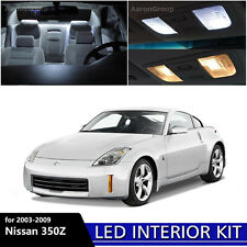 5PCS White Interior LED Light Package Kit for 2003 - 2009 Nissan 350Z