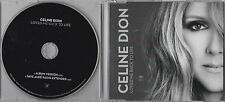 MAXI CD SINGLE 2 TITRES CELINE DION LOVED ME BACK TO LIFE DE 2013 ETAT NEUF
