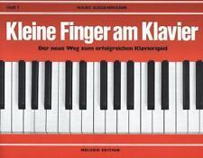 Kleine Finger am Klavier, H.1 von Hans Bodenmann (2005, Geheftet)