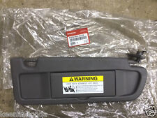 Genuine OEM Honda Civic Passenger Side Dark Atlas Gray NH598L Sunvisor 2006- 2008 bd1cf1ba26f
