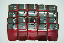 LOT of 20 BLACKBERRY CURVE 8300 8320 RED Battery door cover used