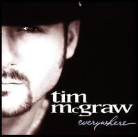 TIM McGRAW - EVERYWHERE CD w/BONUS Trk FAITH HILL *NEW*