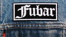 FUBAR Biker Motorcycle Patch by Dixiefarmer Old English