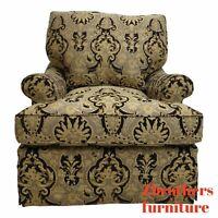 Custom Tomlinson Ervin Lambeth Club Lounge Chair Oversized Regency B