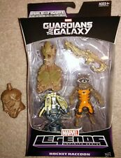 Marvel Legends Hasbro BuildAfigure Groot Infinite Series Rocket Raccoon MISB MCU