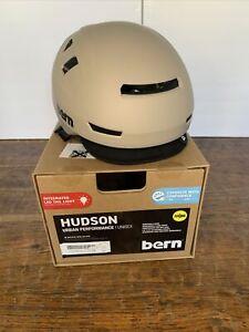 Bern Hudson Helmet Medium Matte Warm Gray. No Light!!
