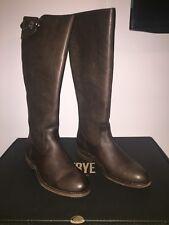 Frye Jayden Buckle Back Zip Wide Calf Boots size 7