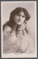 Miss Zena Dare Singer Actress Theater 1920s Vintage Real Photo Postcard - C245