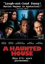 USED DVD - A HAUNTED  HOUSE - MARLON WAYANS , CEDRIC THE ENTERTAINER , KOECHNER