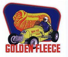 """Golden Fleece Offy  """"Vintage Speedwayl"""" Retro Sticker"""