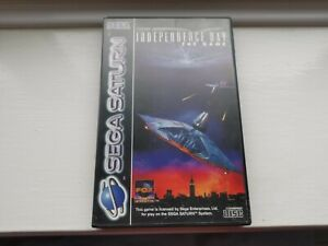 INDEPENDENCE DAY - SEGA SATURN - Tested and Complete - FREE POST UK