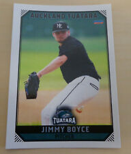 Jimmy Boyce 2018/19 Australian Baseball League card - Auckland Tuatara
