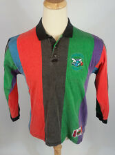 Vtg 90s Retro Throwback Charlotte Hornets Cross Color Polo Shirt Nba Basketball