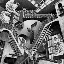 Tela Canvas Escher Art 11 cm 70x70 Stampa Printing Graphics Art papiarte